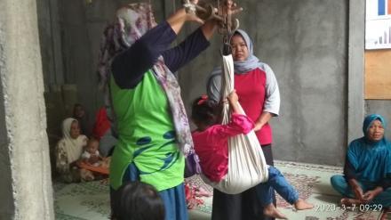 Posyandu balita dan lansia dusun Kabrokan Wetan