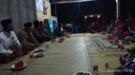 Rakor lembaga Dusun Kabrokan Wetan