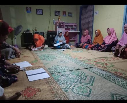 Pertemuan Rutin PKK Dusun Mangir Kidul