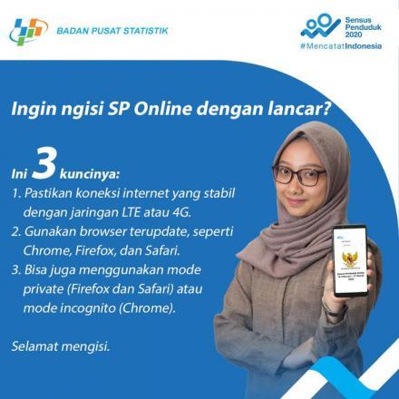 3 Tips Mengisi Sensus Penduduk Online dengan Lancar