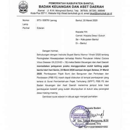 Pelayanan Mobil Keliling Pajak Ditiadakan Sampai 31 Maret 2020