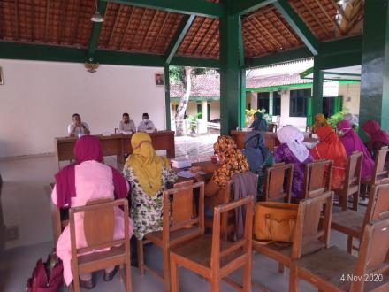 Rapat Koordinasi Kader MPM Desa Sendangsari