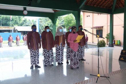 Upacara Hari Jadi Desa Sendangsari Ke 74 Diselenggarakan Secara Sederhana