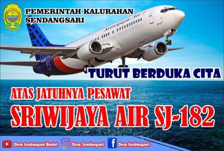 Pemerintah Kalurahan Sendangsari Turut Berduka Atas Jatuhnya Pesawat Sriwijaya Air SJ-182