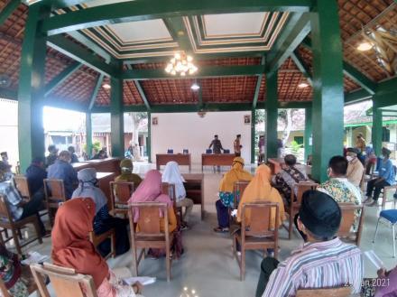 Penyaluran BLT Dana Kalurahan Sendangsari Dilaksanakan Via Transfer