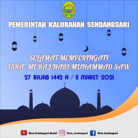 Kisah Isra Mi'raj yang Jatuh pada 1442 H 11 Maret 2021