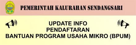 Infromasi Pendaftaran Program Bantuan Bagi Pelaku Usaha Mikro (BPUM) Bulan April 2021